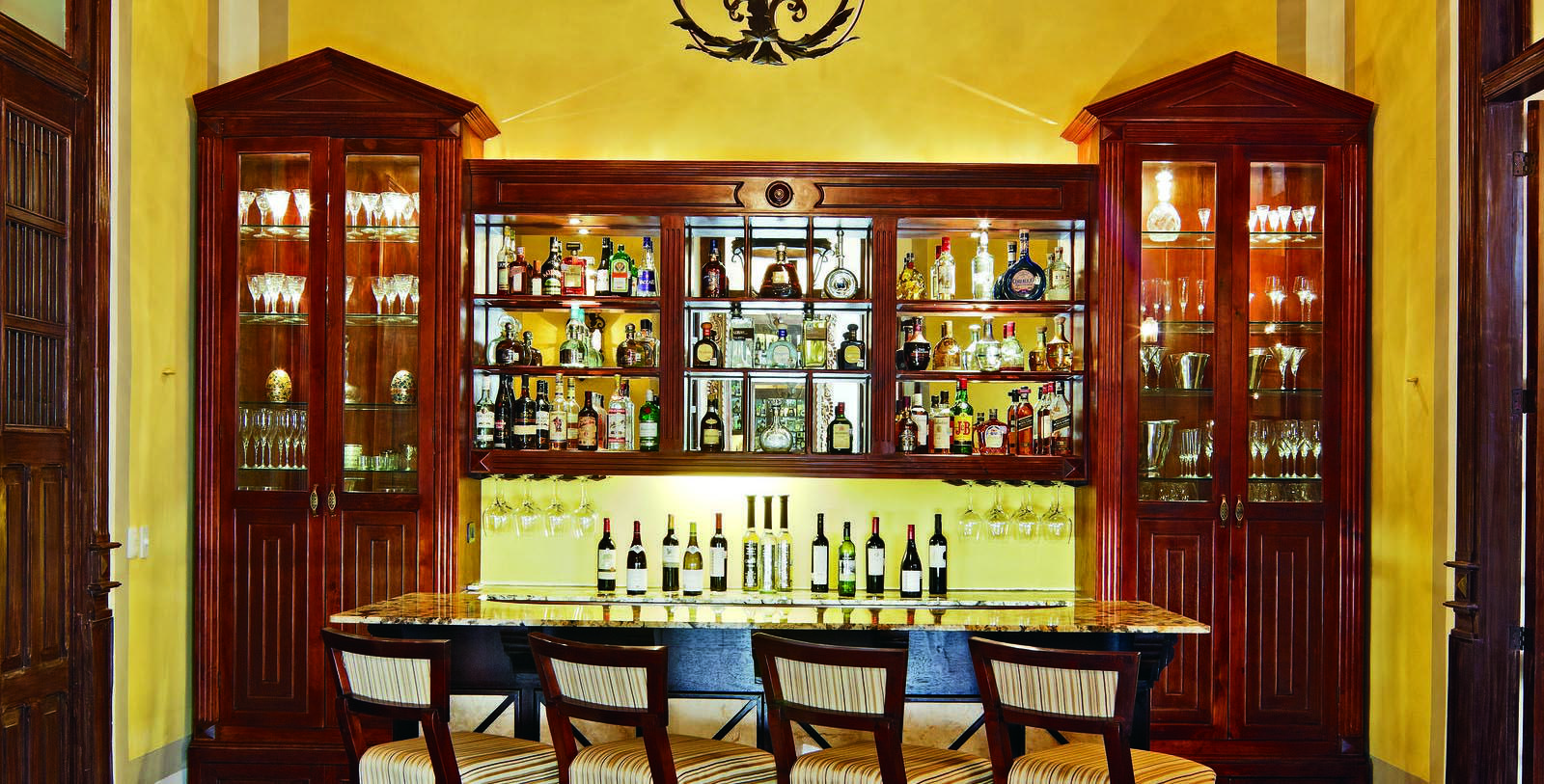 Image of bar area Casa Lecanda, 1900s, Member of Historic Hotels Worldwide, in Merida, Mexico, Taste