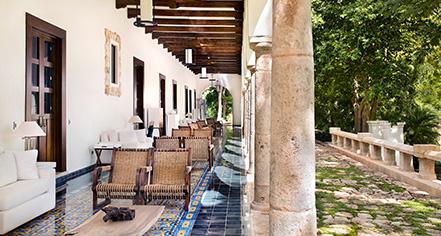 History:      Chablé Resort & Spa  in Chocholá