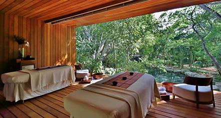 Spa:      Chablé Resort & Spa  in Chocholá