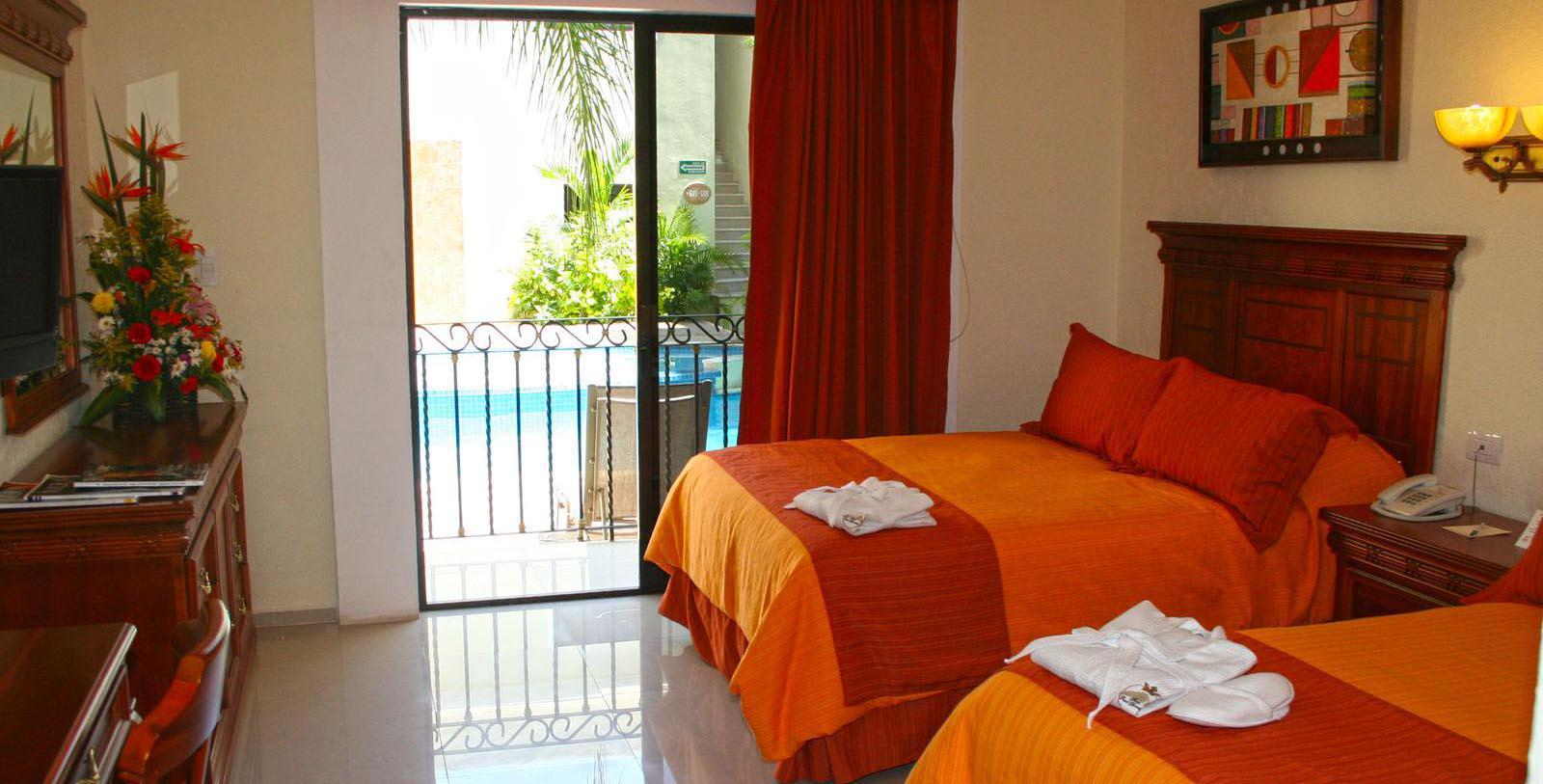 Image of Guestroom Interior, Gran Real Yucatan, Merida, Mexico, 1800s, Member of Historic Hotels Worldwide, Accommodations
