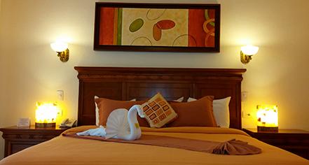 Accommodations:      Gran Real Yucatan  in Merida