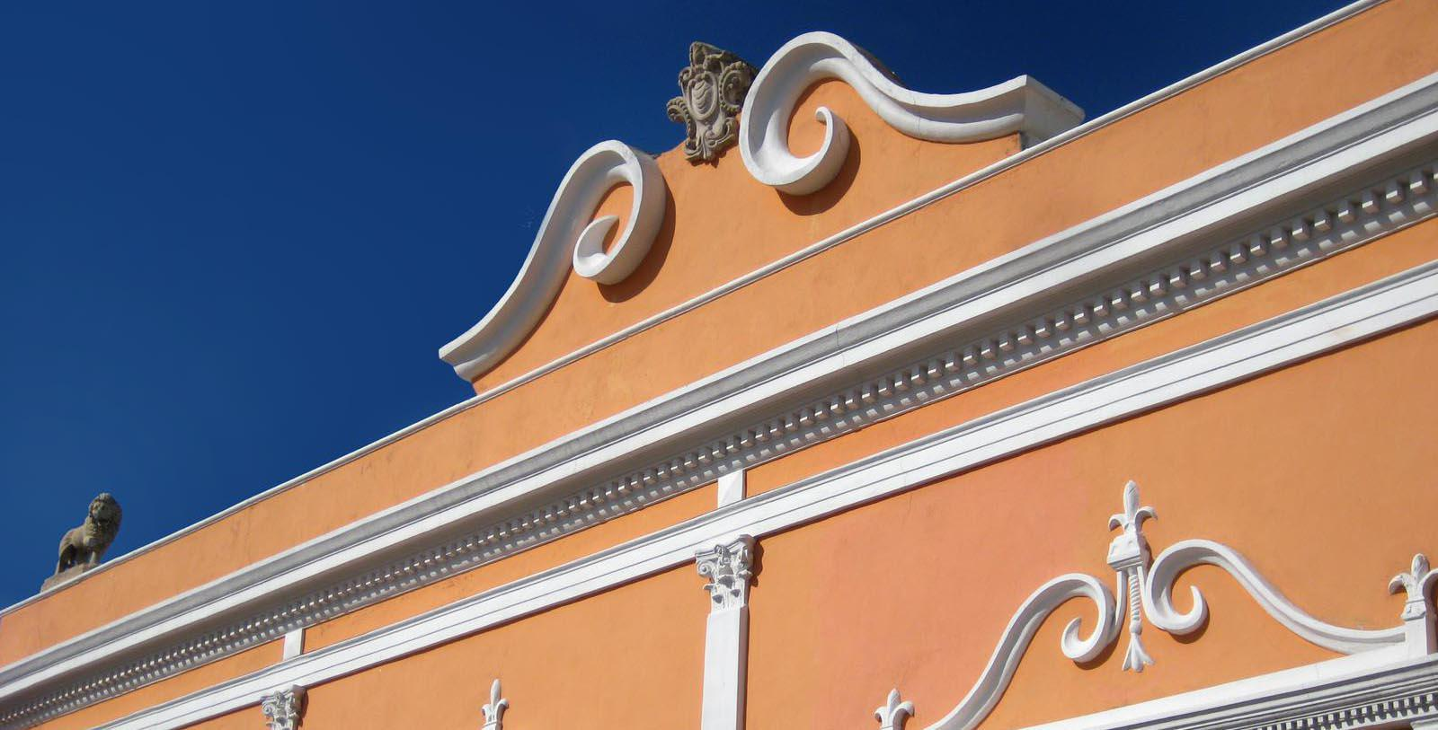 Image of Exterior Detail, Hotel Hacienda Merida, Mexico, 1700s, Member of Historic Hotels Worldwide, Discover