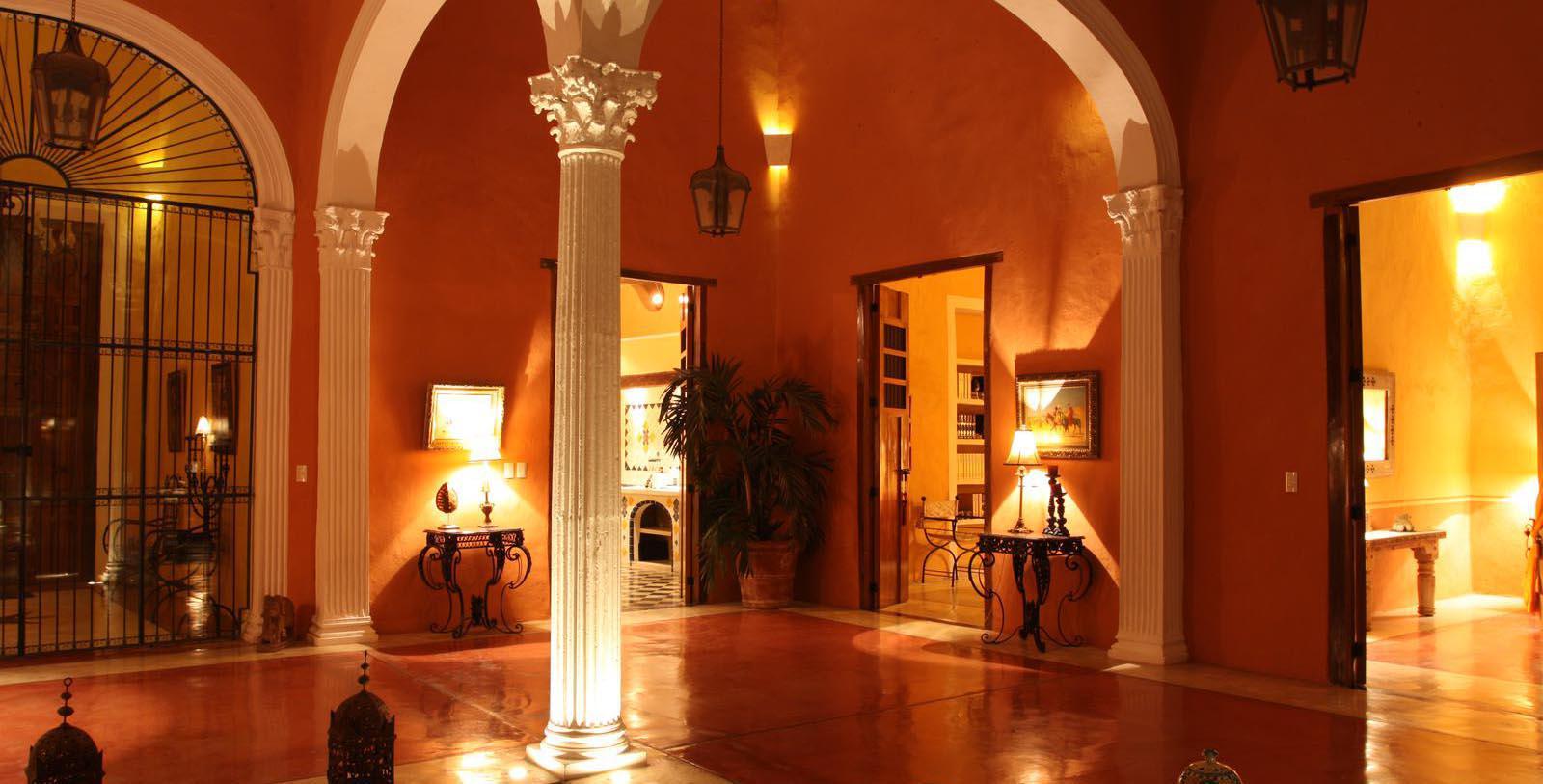 Image of Lobby, Hotel Hacienda Merida, Mexico, 1700s, Member of Historic Hotels Worldwide, Experience