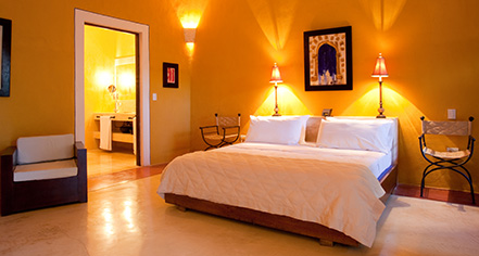 Accommodations:      Hotel Hacienda Merida  in Merida