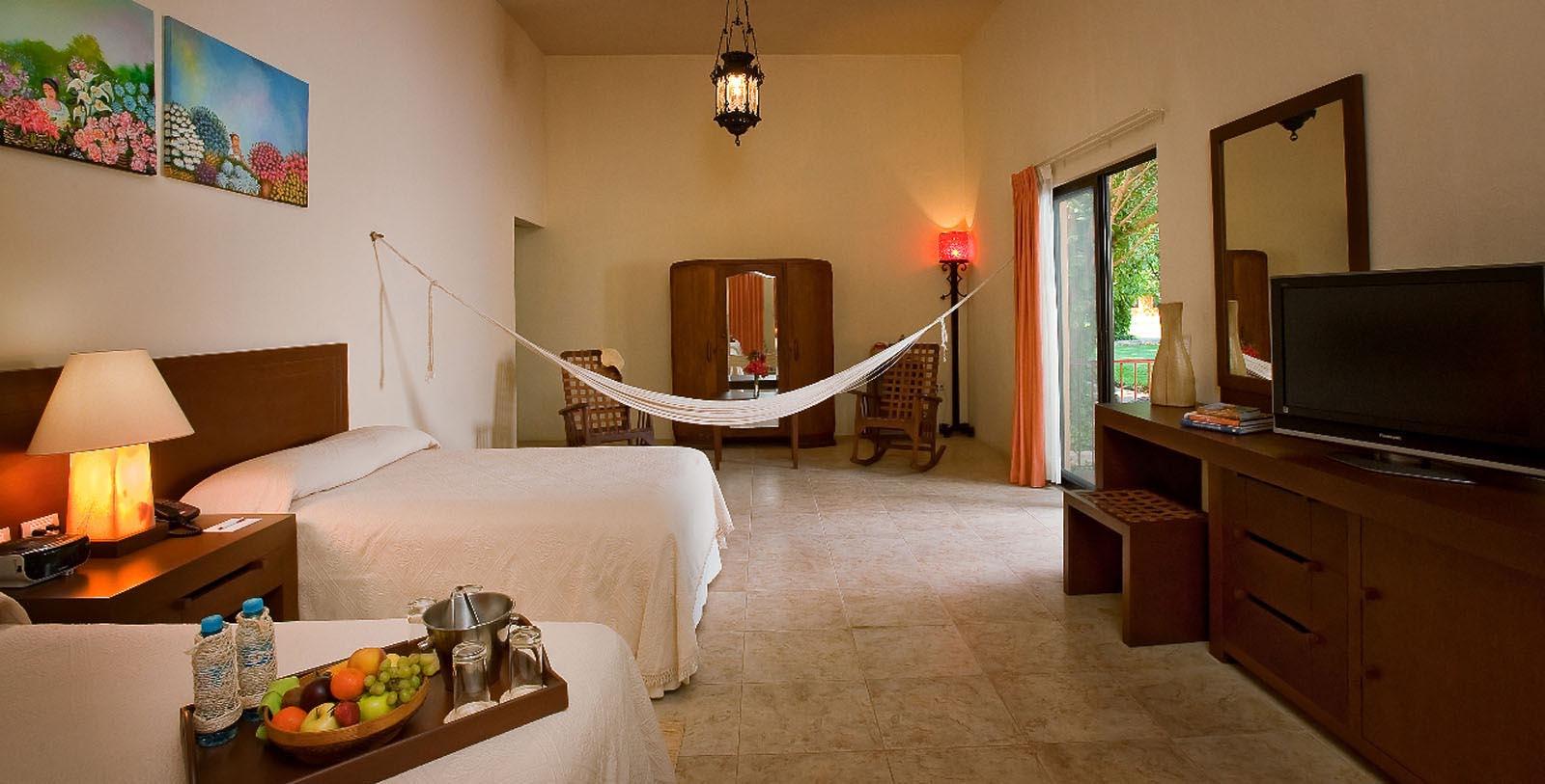 Image of Guestroom Interior, Hacienda Misne, Merida, Mexico, 1700s, Member of Historic Hotels Worldwide, Accommodations