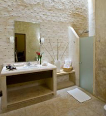 Image of Guestroom Bathroom Hacienda Misne, Merida, Mexico, 1700s, Member of Historic Hotels Worldwide, Experience