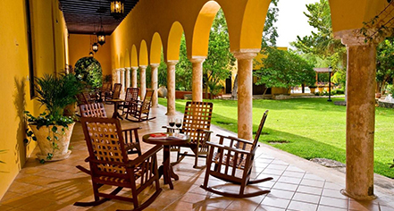 Meetings at      Hacienda Misne  in Merida