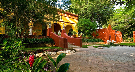 Hacienda Misne  in Merida