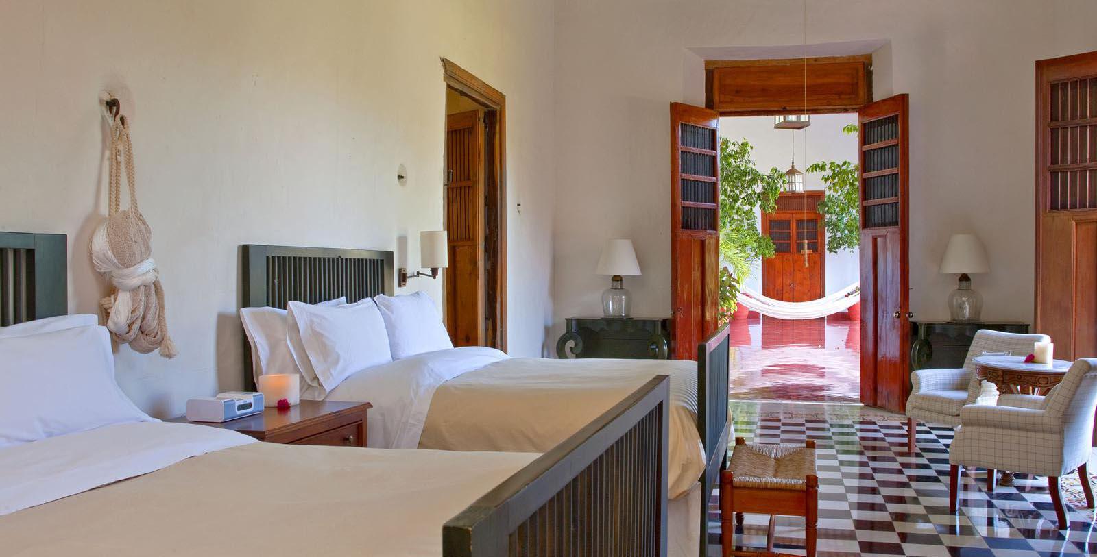 Image of Guestroom Interior, Hacienda Temozon, A Luxury Collection Hotel, Temozon Sur, Mexico, 1655, Member of Historic Hotels Worldwide, Location Map