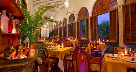 Dining at      Hacienda Temozon, A Luxury Collection Hotel  in Temozon Sur
