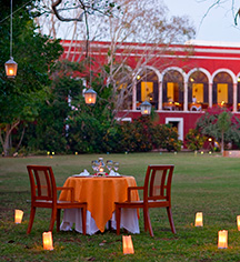 Dining at      Hacienda Temozon, A Luxury Collection Hotel  in Temozon Sur