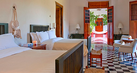 Accommodations:      Hacienda Temozon, A Luxury Collection Hotel  in Temozon Sur
