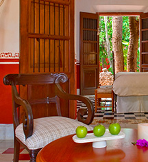 Accommodations:      Hacienda Temozon, A Luxury Collection Hotel  in Temozon Sur