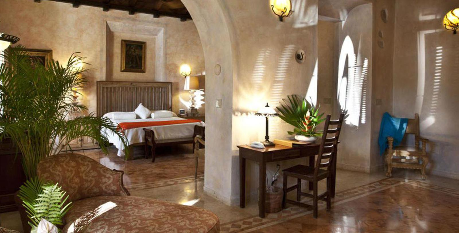 Image of Guestroom Interior, Hacienda Xcanatún, Merida, Mexico, 1789, Member of Historic Hotels Worldwide, Location Map