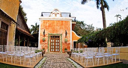 Weddings:      Hacienda Xcanatún  in Merida