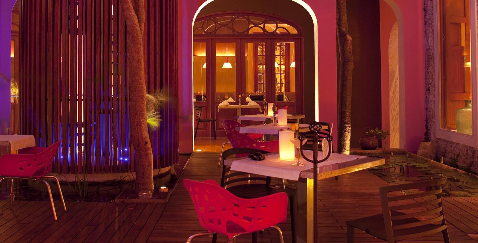Image of Moon Lounge at Rosas & Xocolate Boutique Hotel, 1909, Member of Historic Hotels Worldwide, in Merida, Yucatan, Mexico, Experience