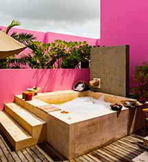 Spa:      Rosas & Xocolate Boutique Hotel  in Merida