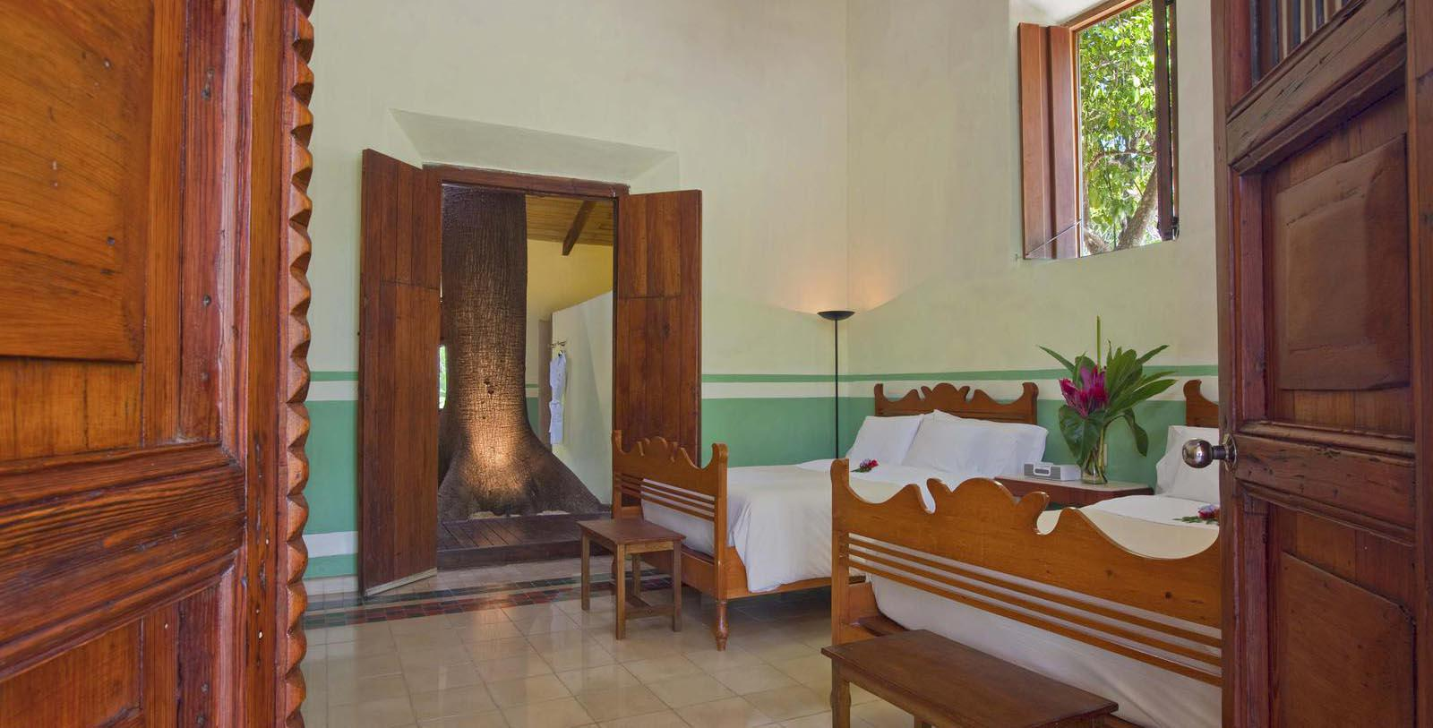Image of Guestroom Interior, Hacienda San Jose, A Luxury Collection Hotel, Tixkokob, Mexico, 1800, Member of Historic Hotels Worldwide, Accommodations