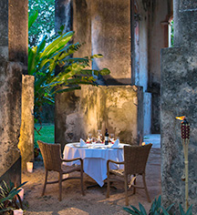 Dining at      Hacienda Santa Rosa, A Luxury Collection Hotel  in Santa Rosa