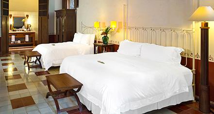 Accommodations:      Hacienda Santa Rosa, A Luxury Collection Hotel  in Santa Rosa