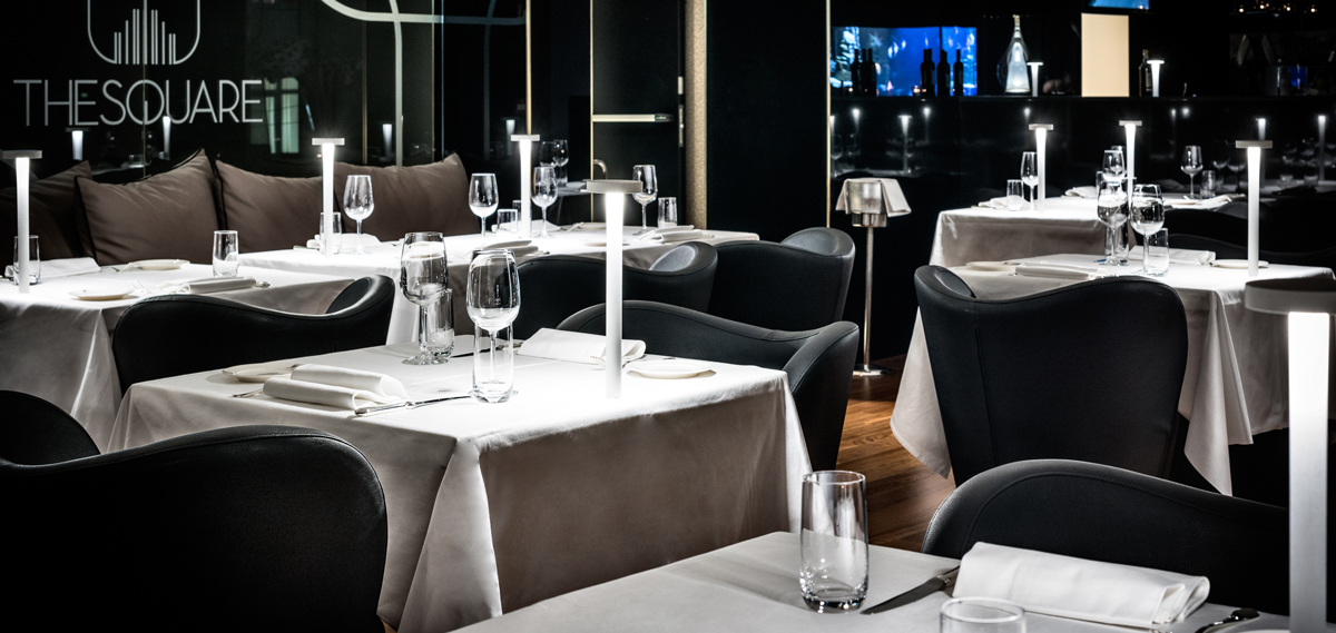 Dining:      The Square Milano Duomo  in Milan