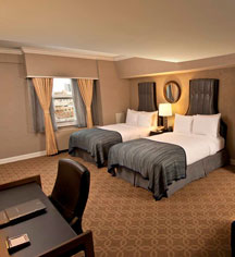 Accommodations:      Hilton Milwaukee City Center  in Milwaukee