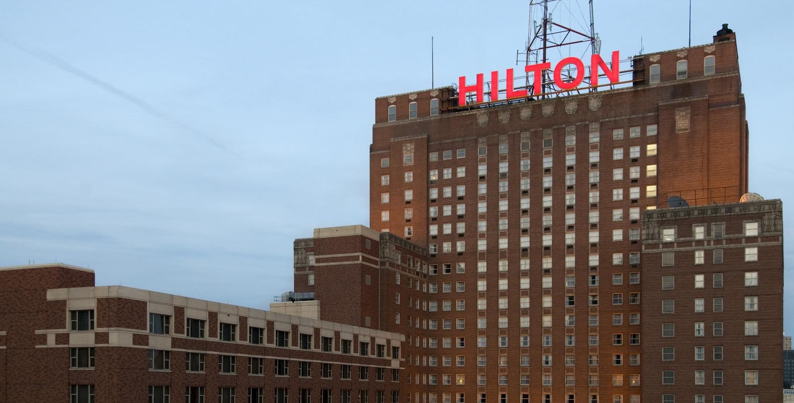 Image of hotel exterior Hilton Milwaukee City Center, 1928, Member of Historic Hotels of America, in Milwaukee, Wisconsin, Overview