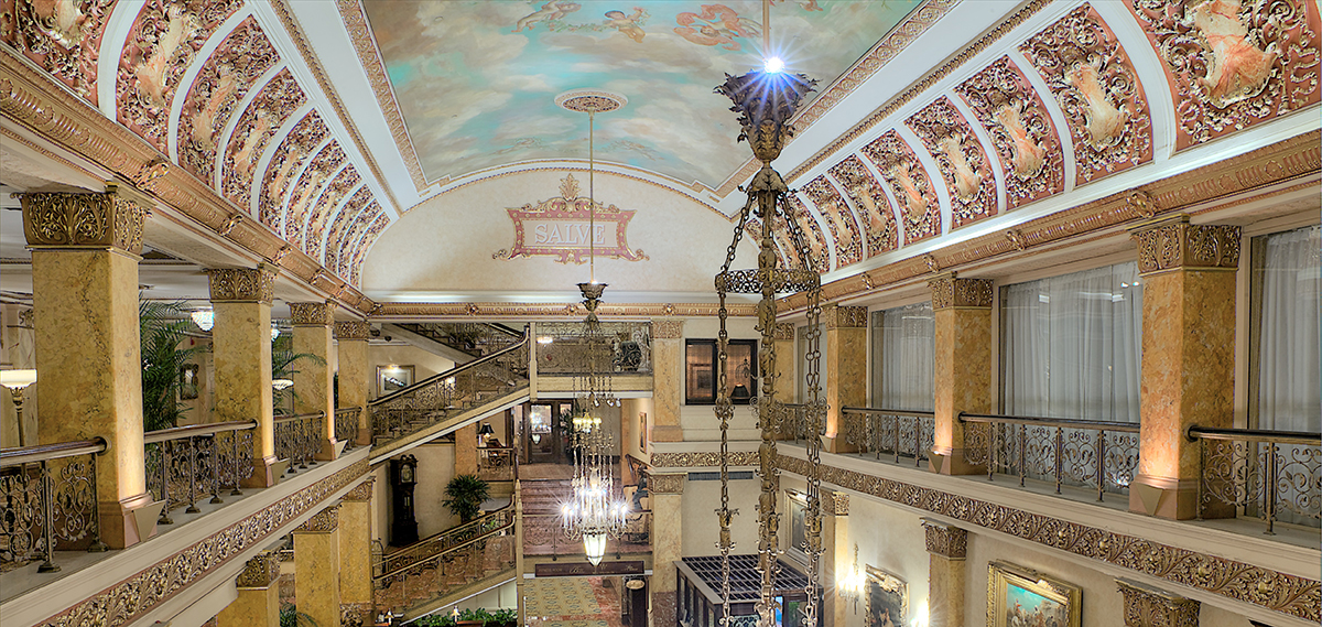 The Pfister Hotel Milwaukee Wisconsin Lobby