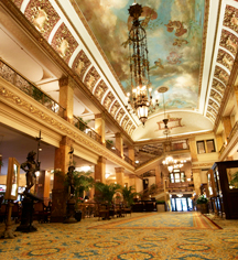 Local Attractions:      The Pfister Hotel  in Milwaukee