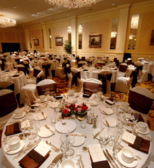 Weddings:      The Pfister Hotel  in Milwaukee