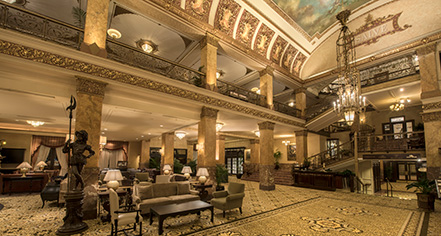 Event Calendar:      The Pfister Hotel  in Milwaukee