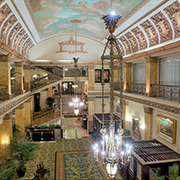 Book a stay with The Pfister Hotel in Milwaukee