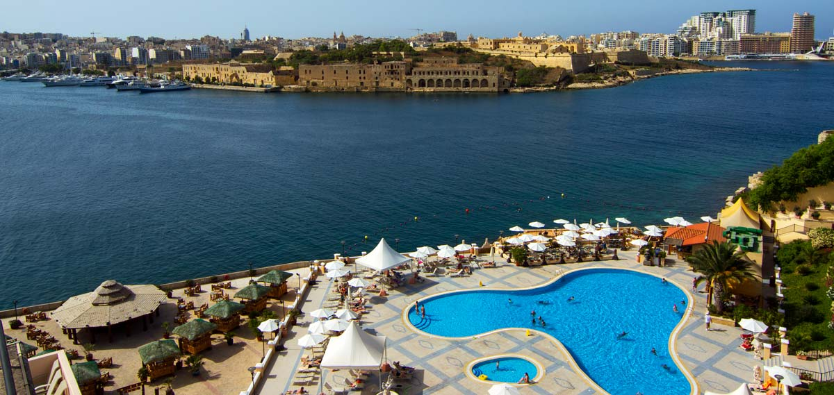 Grand Hotel Excelsior  in Valletta