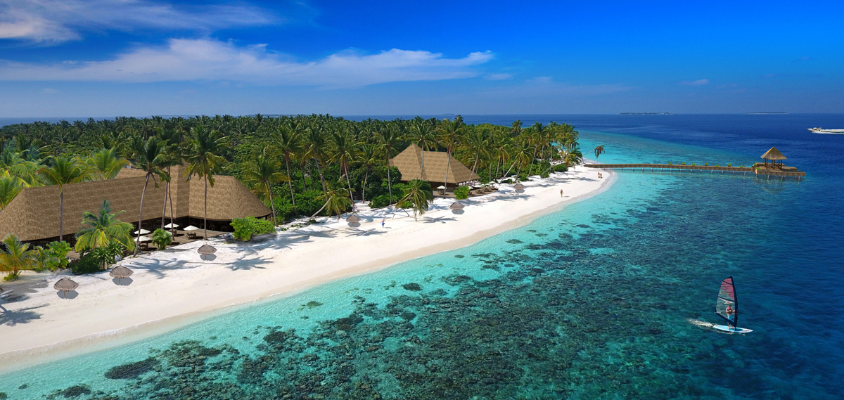 Accommodations:      Reethi Faru Resort  in Raa Atoll