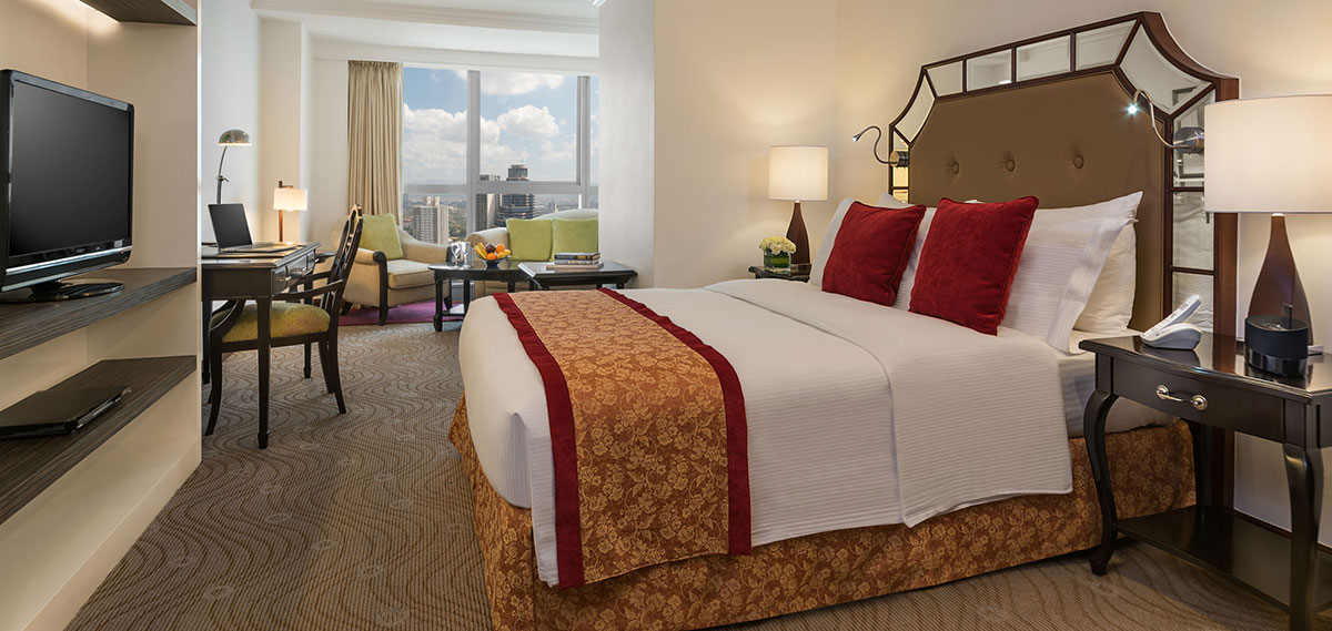 Accommodations:      Discovery Suites Manila Philippines  in Manila