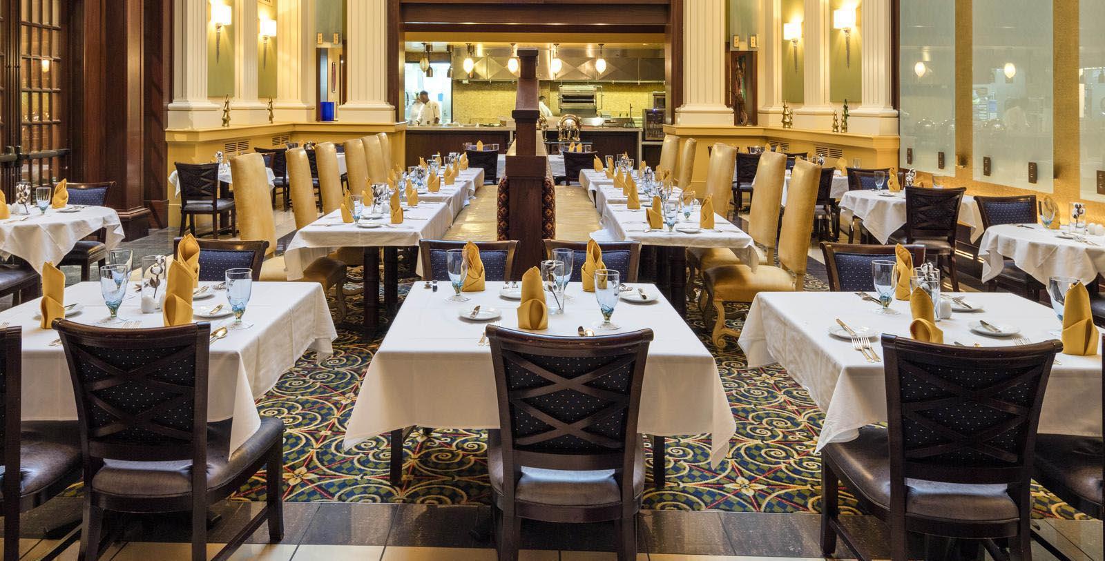 Image of Trellis Room Restaurant Dining Room at Battle House Renaissance Mobile Hotel & Spa, 1852, Member of Historic Hotels of America, in Mobile, Alabama, Taste