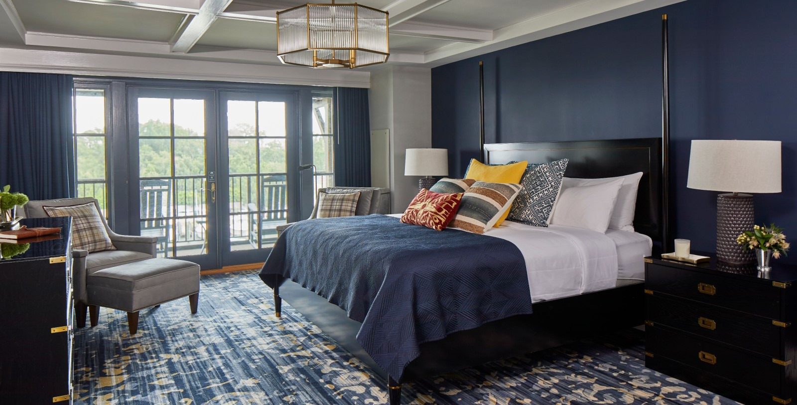 Image Of Presidential Suite Bedroom Grand Hotel Golf Resort & Spa In Point Clear, Alabama, Accommodations