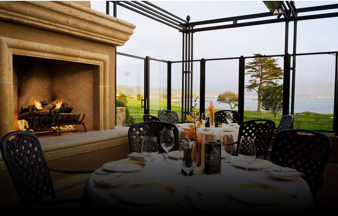 Dining:      The Lodge at Pebble Beach  in Pebble Beach