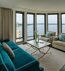 Accommodations:      The Edgewater  in Madison