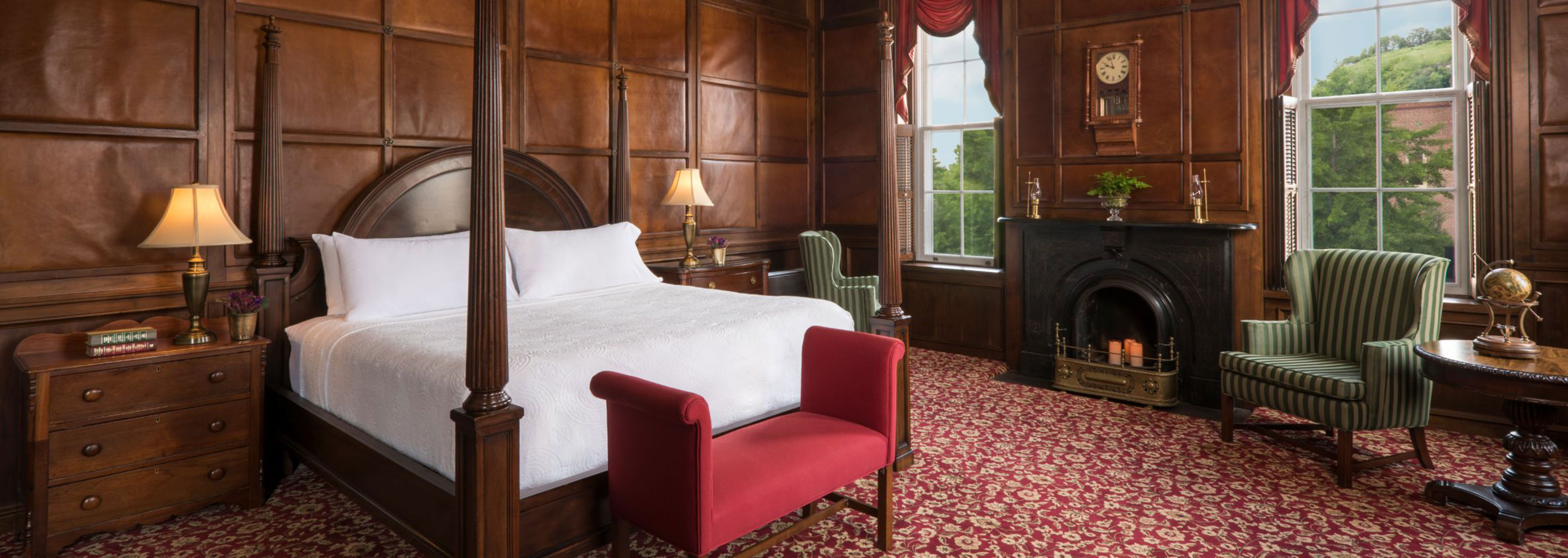 Image of Guestroom Interior St. James Hotel, 1875, Member of Historic Hotels of America, in Red Wing, Minnesota, Accommodations