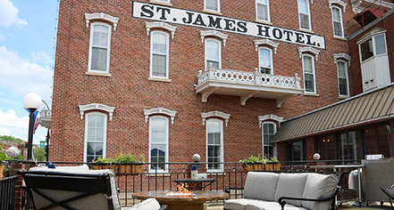 St. James Hotel MN  in Red Wing