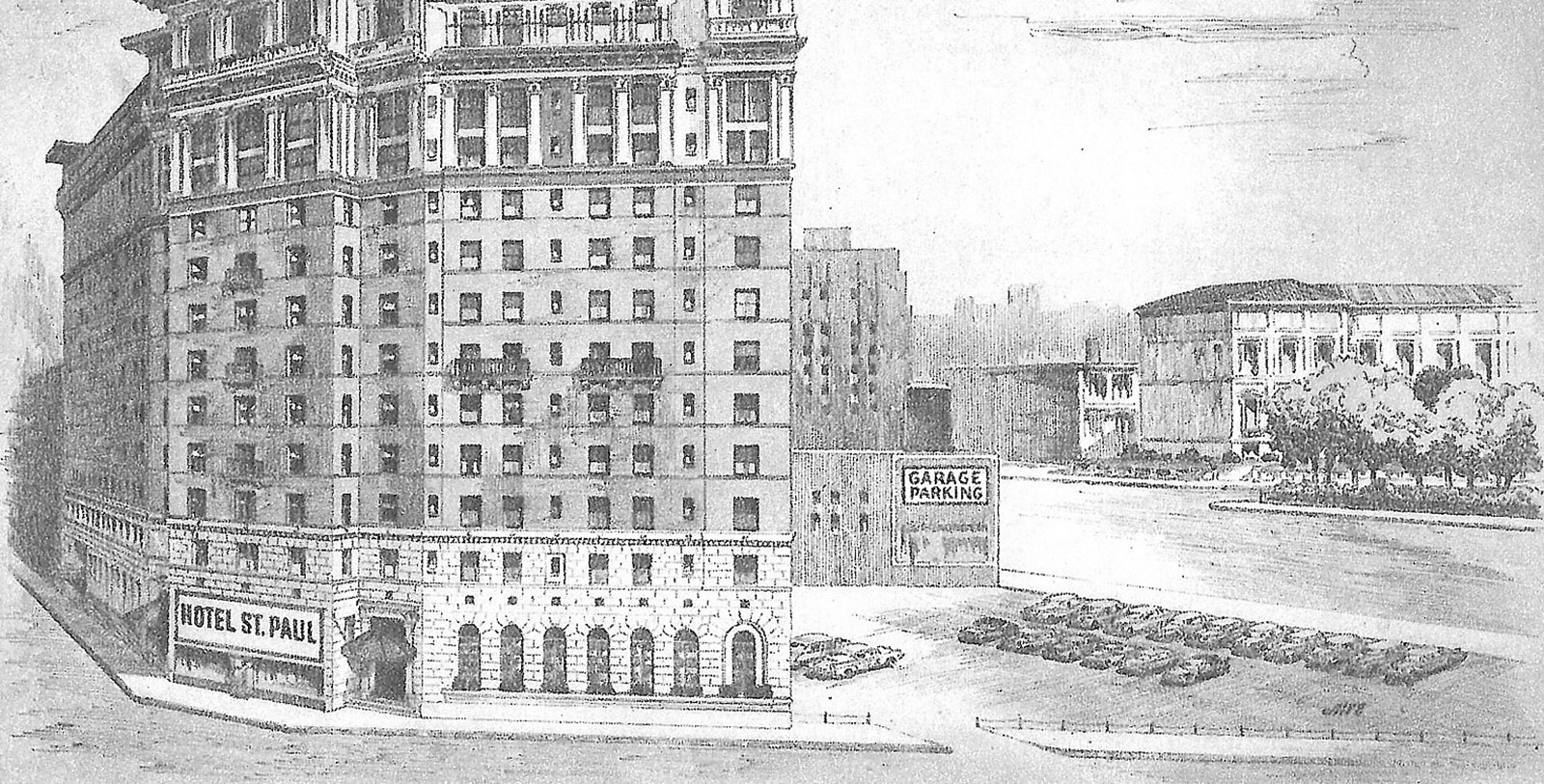 Image of The Saint Paul Hotel, 1910, Member of Historic Hotels of America, in St. Paul, Minnesota, History