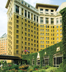 Local Attractions:      The Saint Paul Hotel  in St. Paul