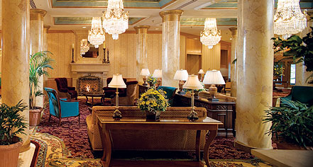 Accommodations:      The Saint Paul Hotel  in St. Paul
