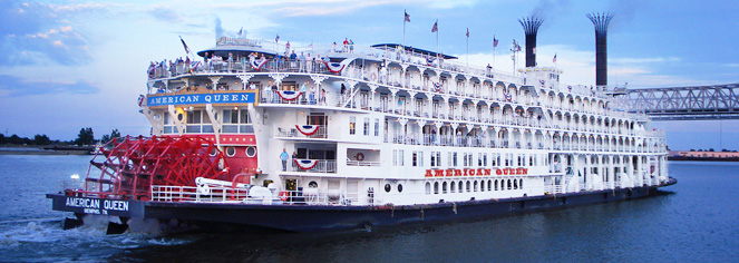 American Queen Steamboat Company – Lower Mississippi River Cruises  in New Orleans