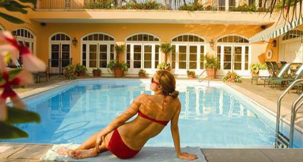 Activities:      Hotel Monteleone  in New Orleans