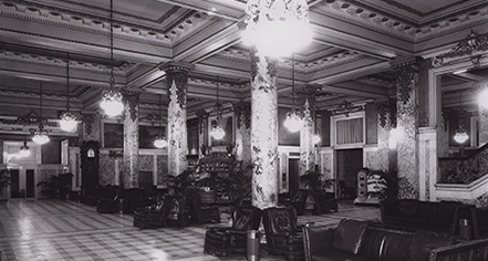 History:      Hotel Monteleone  in New Orleans