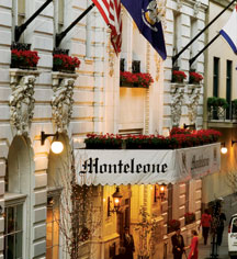 Dining at Hotel Monteleone in New Orleans