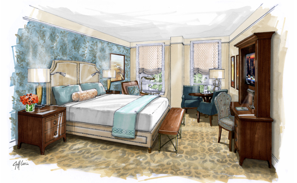 NOPSI New Orleans, a Salamander Hotel - Opening Early 2017  - Accommodations