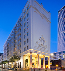 Le Pavillon Hotel  in New Orleans